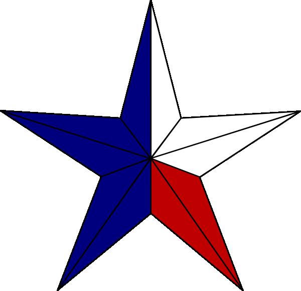 600x580 Texas Star Clipart