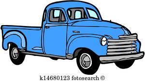 300x170 Pickup Truck Clipart And Illustration. 2,388 Pickup Truck Clip Art
