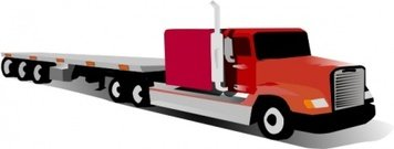 356x135 Free Delivery Truck Clip Art, Vector Free Delivery Truck