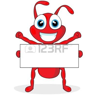 400x400 Cute Ant Clipart