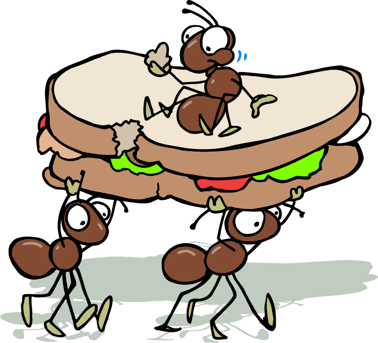 750x681 Picnic Ant Clipart Letters