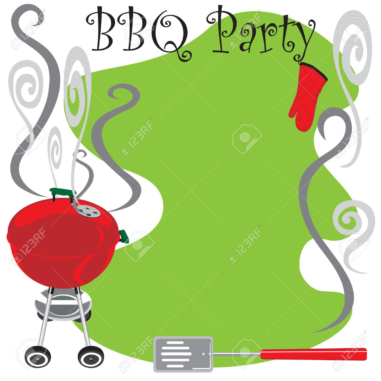 1300x1300 Picnic Clipart Grill Party