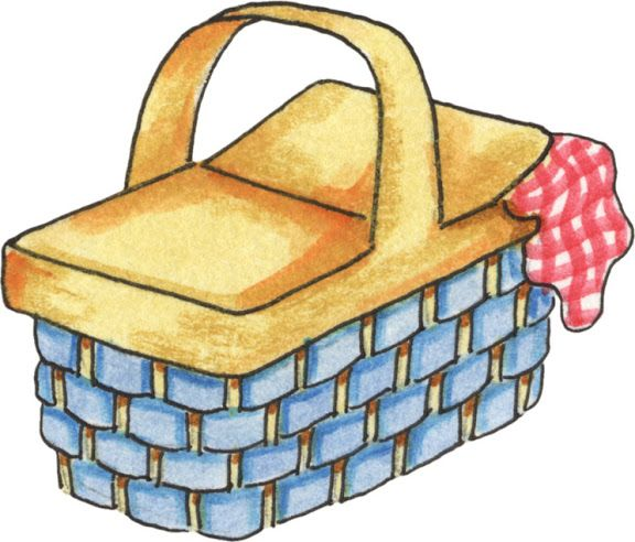 Picnic Basket Clipart | Free download on ClipArtMag