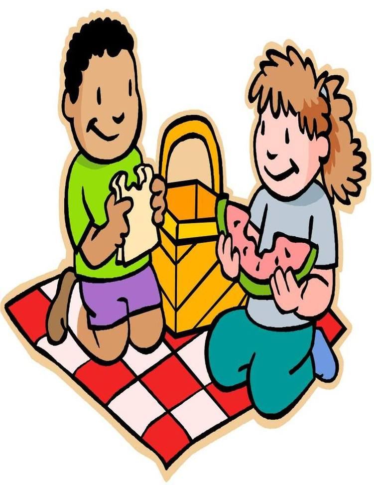 751x973 Picnic Basket Clipart Kid