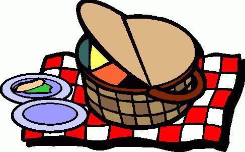487x301 Picnic Basket Clip Art Free Clipart Images 2