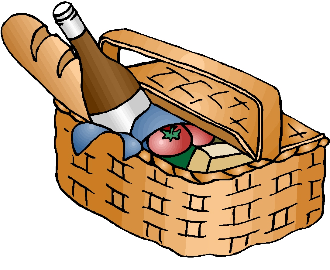 1086x889 Best Picnic Basket Clip Art