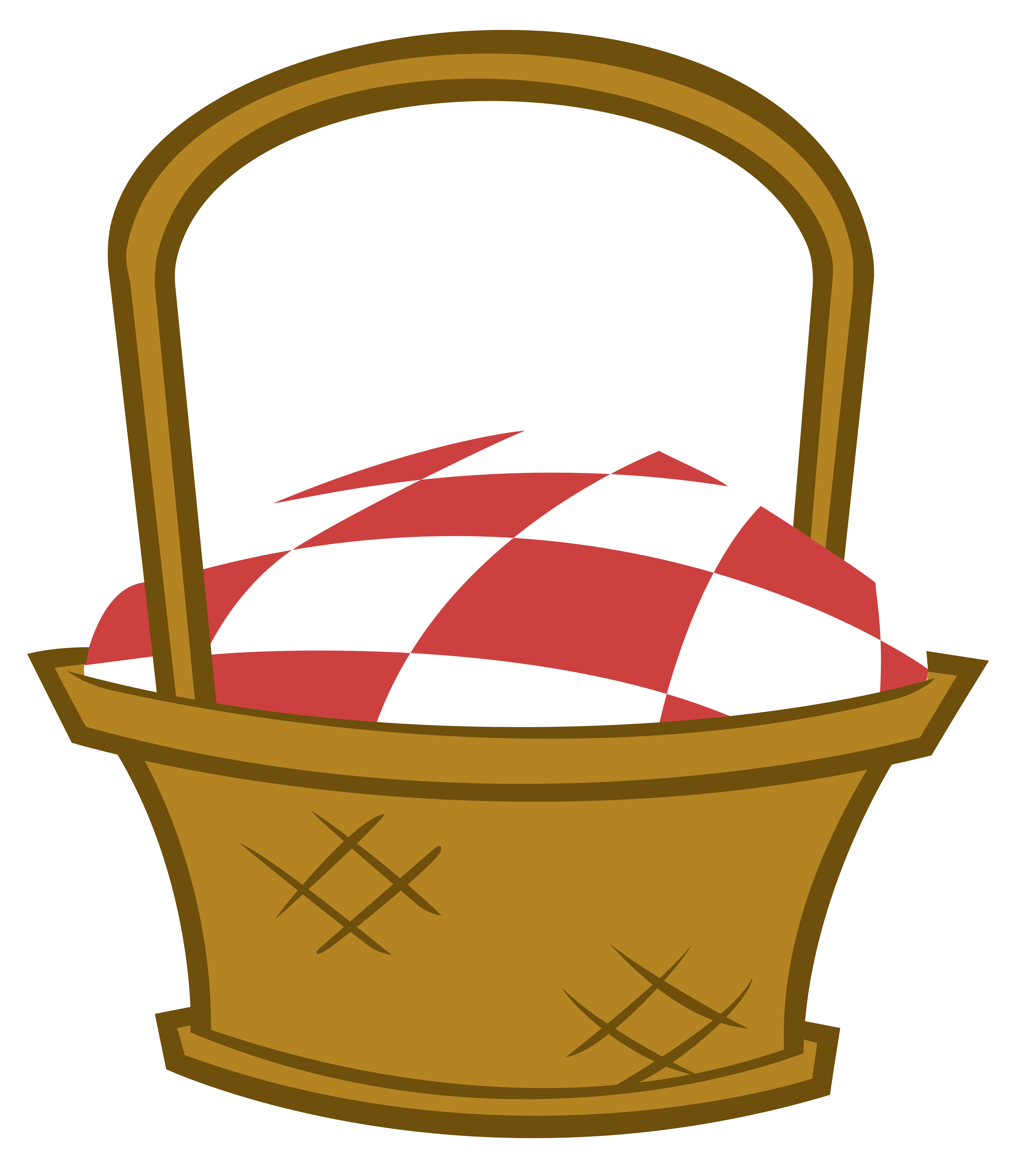 3500x4000 Best Picnic Basket Clip Art