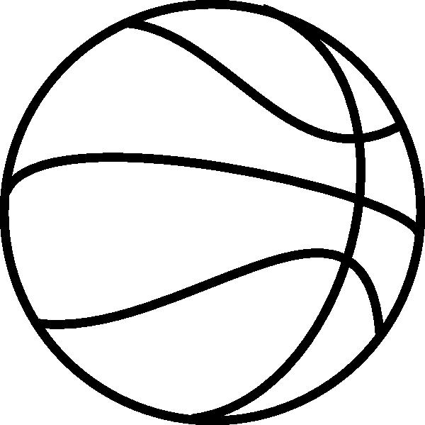 600x599 Basket Ball Clipart