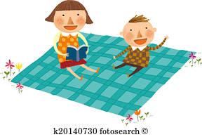 288x195 Picnic Mat Stock Illustration Images. 48 Picnic Mat Illustrations