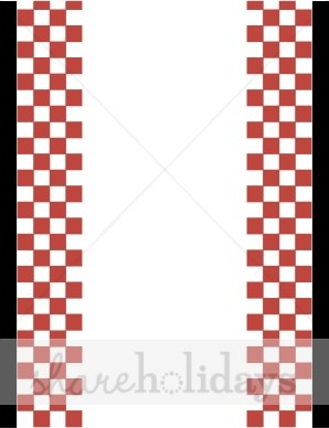 298x388 Free Picnic Clipart Borders