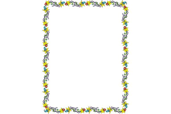 600x400 Page Boarder Year Clipart