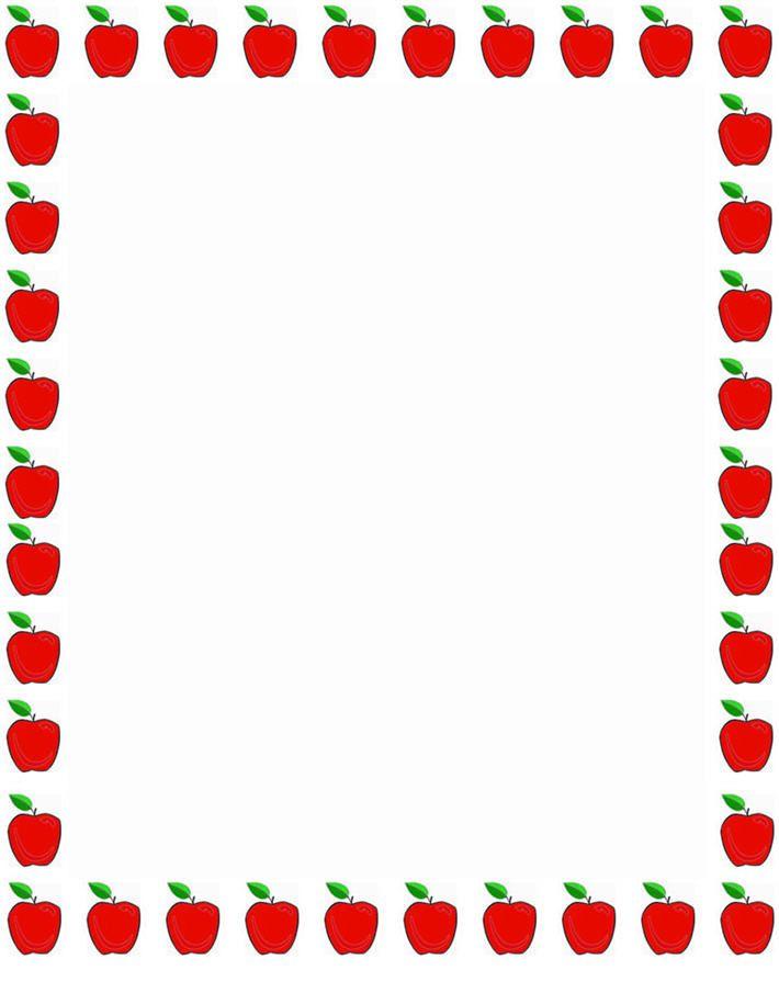 710x915 Clip Art Borders For School Cliparts