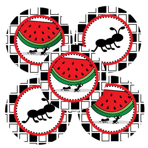 600x600 Ant Clipart Watermelon