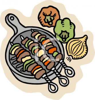 332x350 Royalty Free Picnic Clipart Image