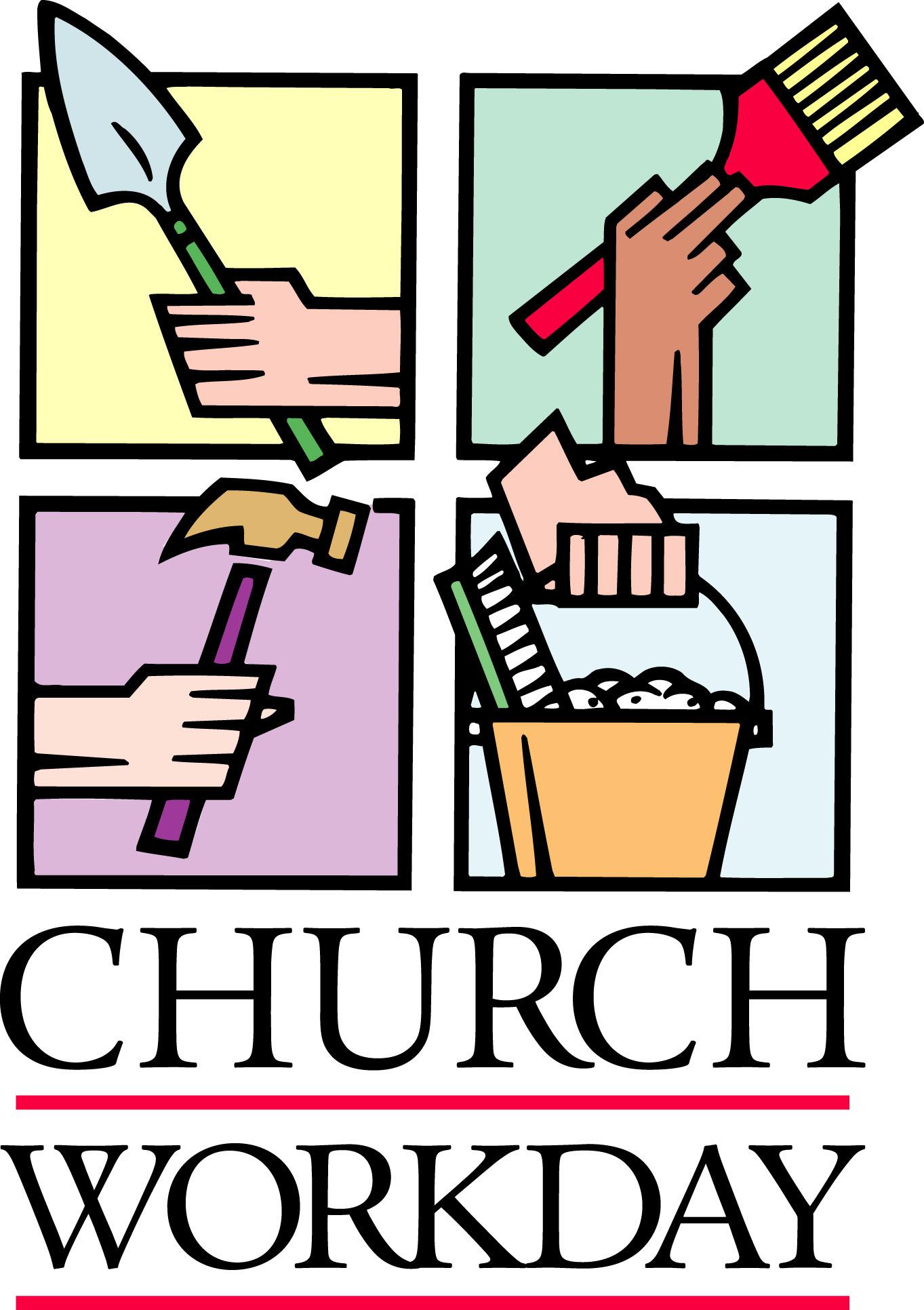 1363x1932 Church Work Day Clipart