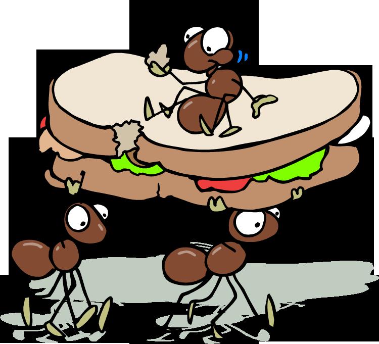 750x681 Ant Clipart Picnic