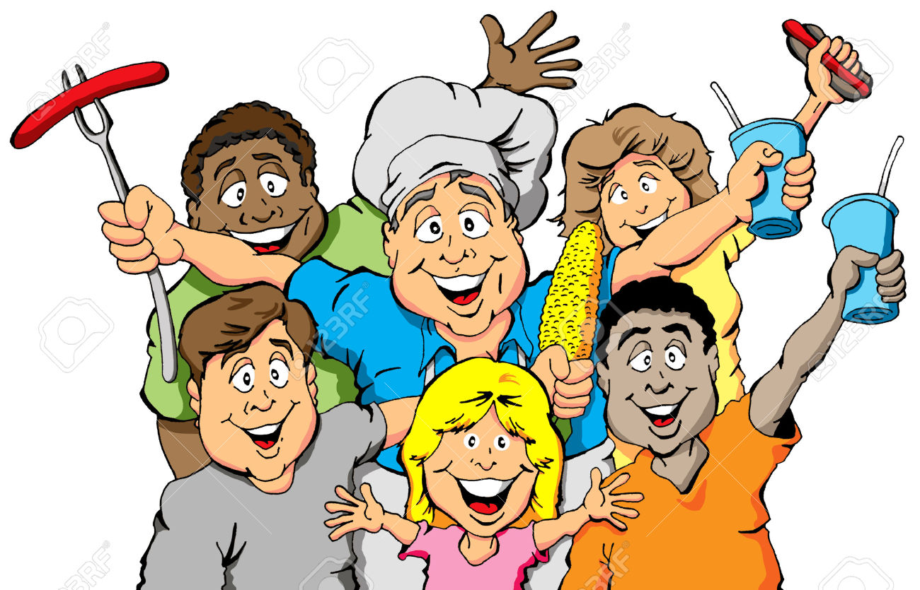 1300x835 Picnic Clipart Group Person