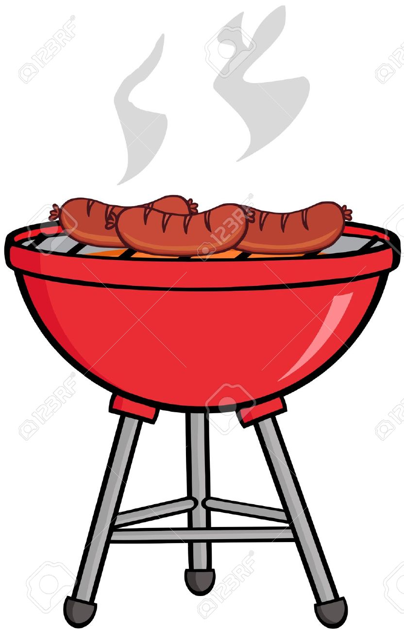 832x1300 Bbq Picnic Table Clipart Collection