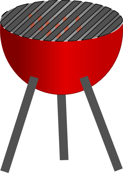 420x592 Summer Barbeque Clipart