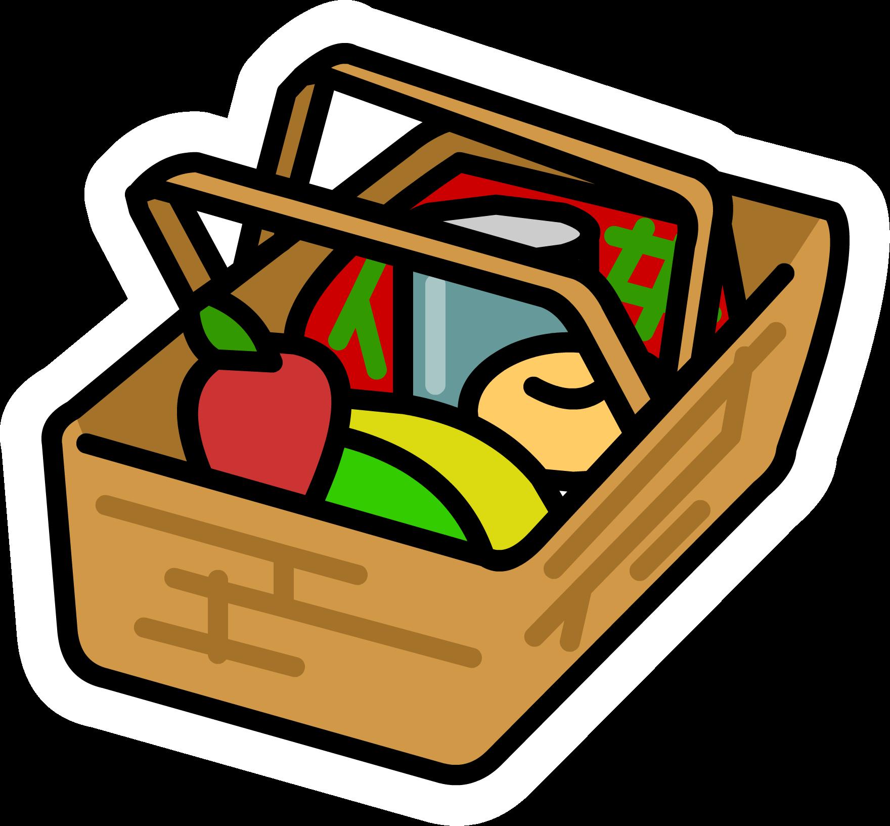 1760x1633 Picnic Basket Pin Club Penguin Wiki Fandom Powered By Wikia
