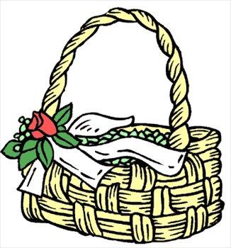 326x350 Basket Free Picnic Clipart