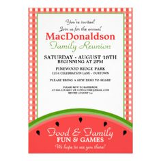 236x236 Rustic Family Reunion Invitation With Lights By Goldengirldesignz