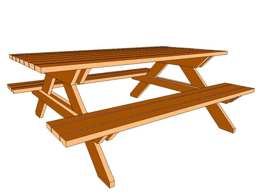 830x623 Picnic Table Clipart Family Picnic