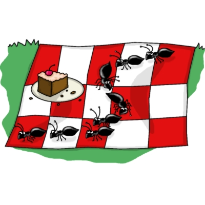 400x400 Picnic Clipart Animated