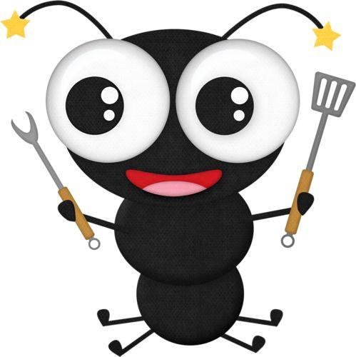 499x500 Picnic Clipart Ant