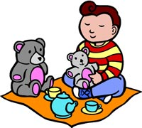 200x180 Picnic Clipart Teddy Bear Picnic