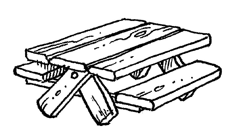 792x468 Picnic Table Clipart