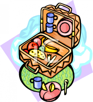 321x350 Picnic Basket Clipart Animated