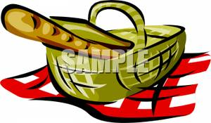 300x175 Picnic Basket Clipart Picnic Rug