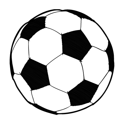 400x400 Soccer On Soccer Ball Clip Art And Award Certificates 2