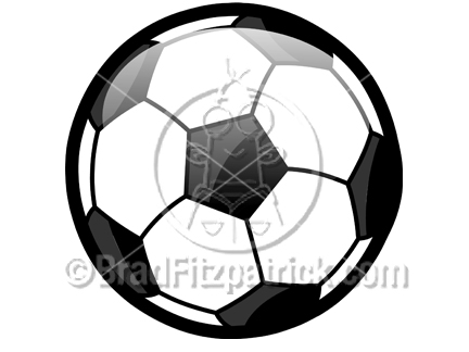 432x324 Cartoon Soccer Ball Clipart Picture Royalty Free Soccer Clip Art
