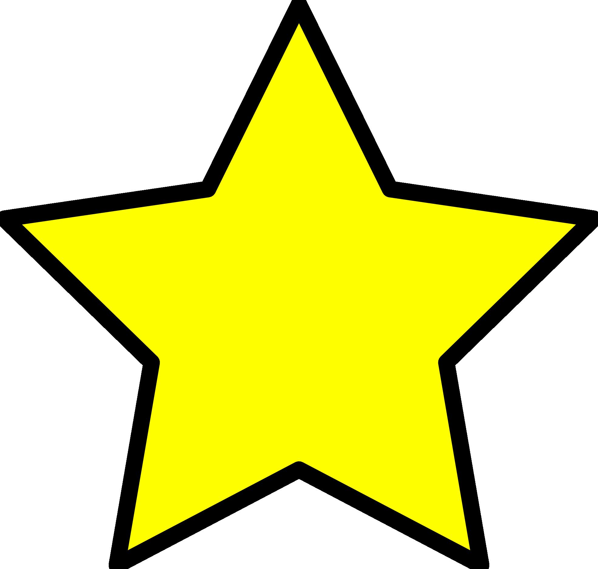 Pics Of A Star Clipart