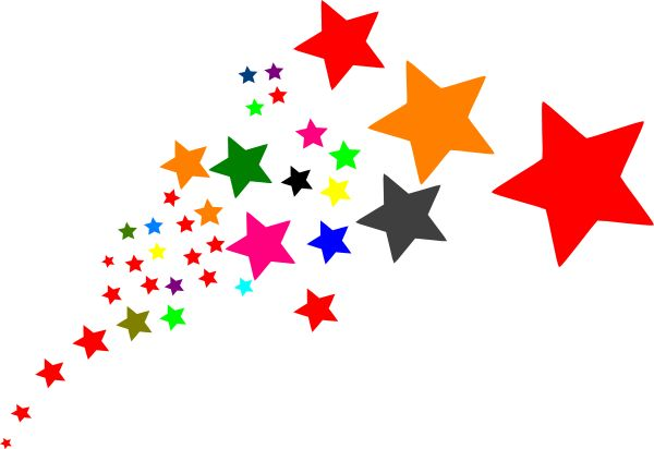 600x412 Starburst Animated Star Clip Art Shooting Star Clip Art Stars