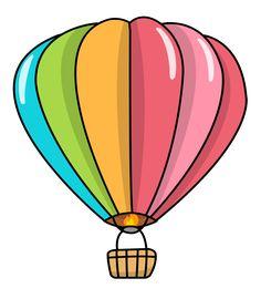 236x270 Free Clip Art Of A Fun Rainbow Striped Hot Air Balloon Sweet