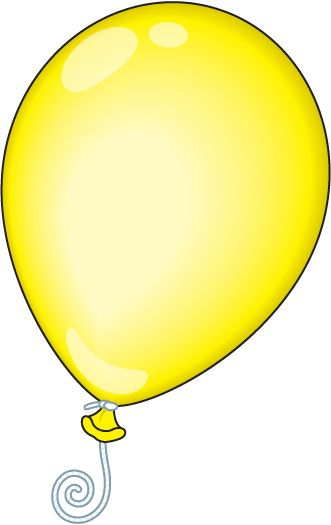 331x525 Yellow Balloon Clipart, Explore Pictures