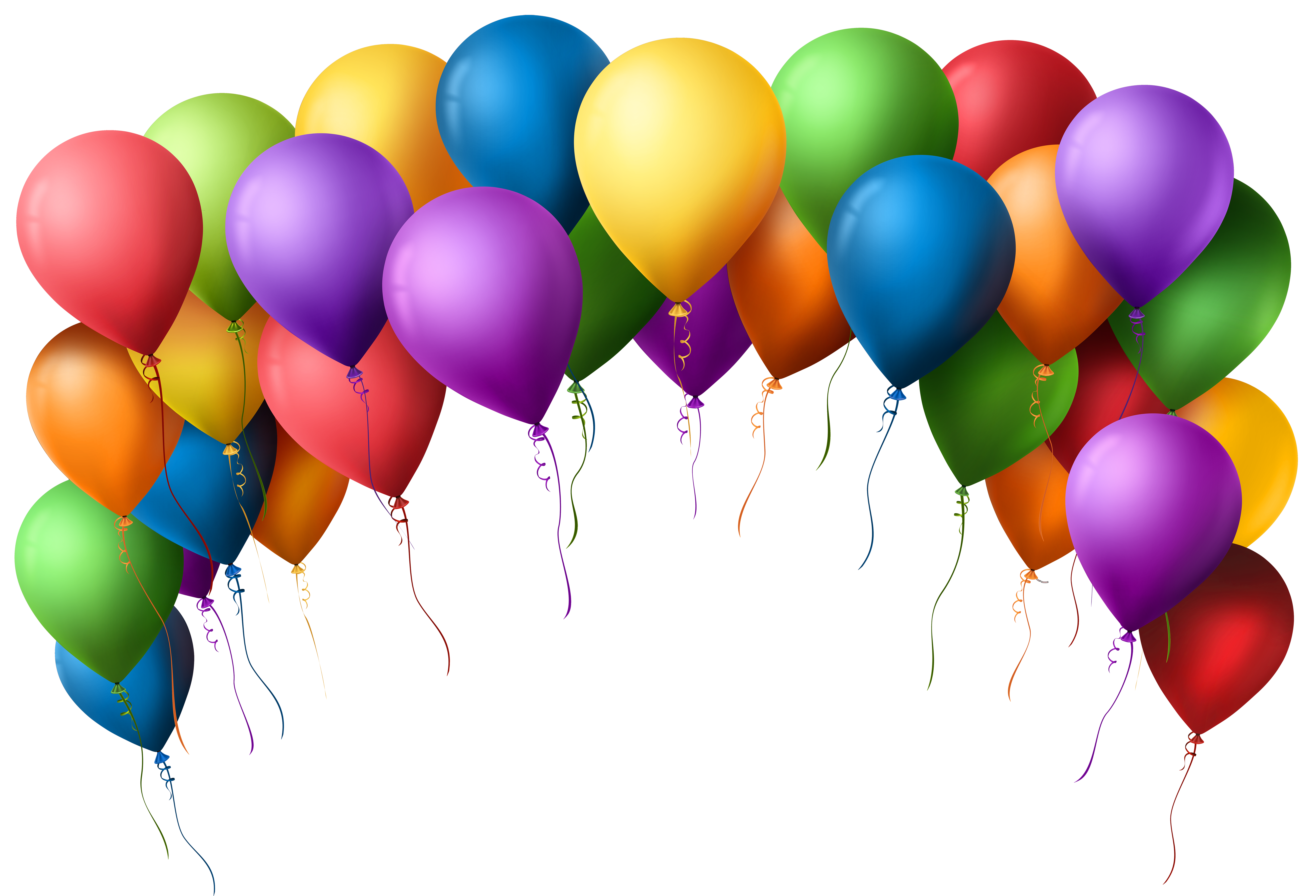 7000x4766 Balloon Clipart Banner