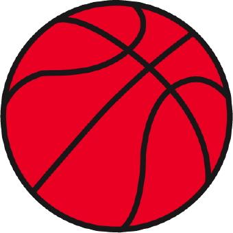 340x339 Basketball Clip Art 2