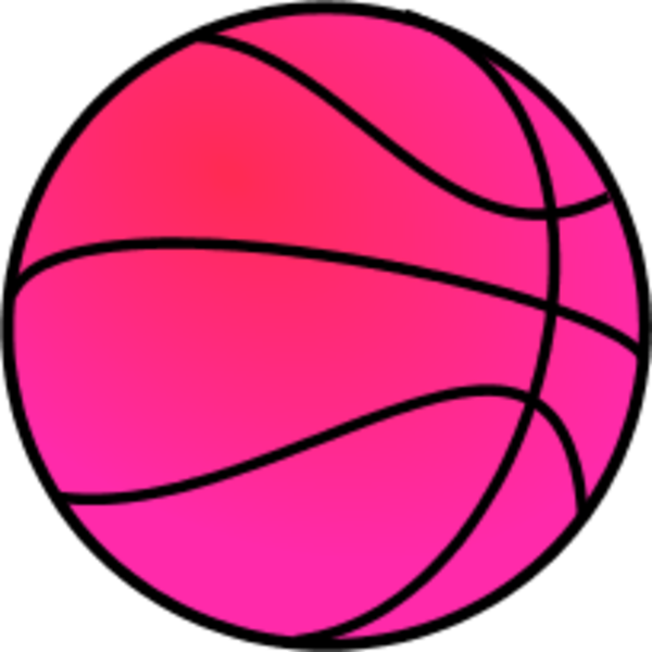 600x600 Colouful Clipart Basketball