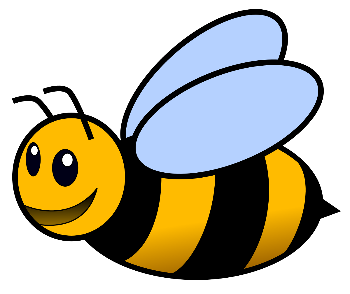 1200x1008 Bees Clipart Bee Face