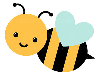 340x270 Bumblebee Clipart Baby Shower