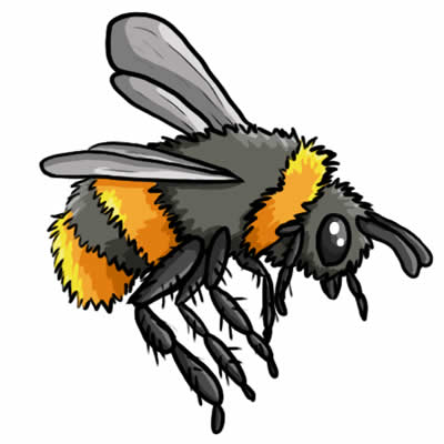 400x400 Free Bee Graphics Bumble Bees Clipart 2