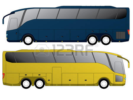 450x338 1,497 Double Bus Stock Vector Illustration And Royalty Free Double