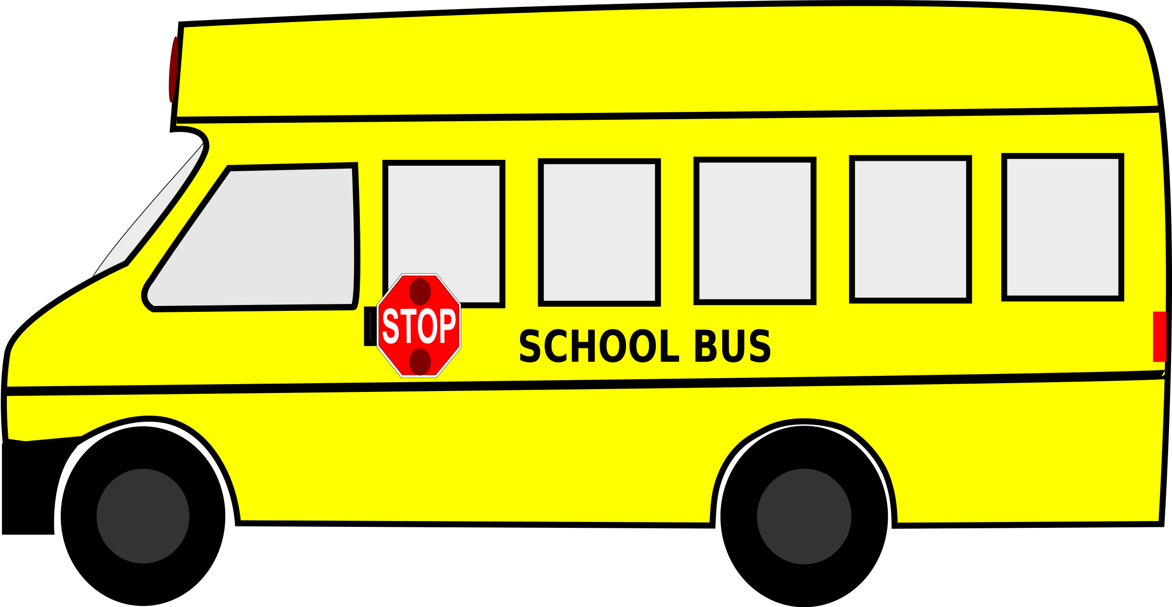 2400x1242 Bus Clipart, Suggestions For Bus Clipart, Download Bus Clipart