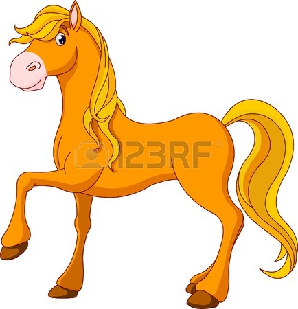 Pics Of Cartoon Horses Clipart