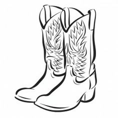 236x236 Cowboy Boots And Cowboy Hat Drawing Hd Shoe Clip Art Homemade