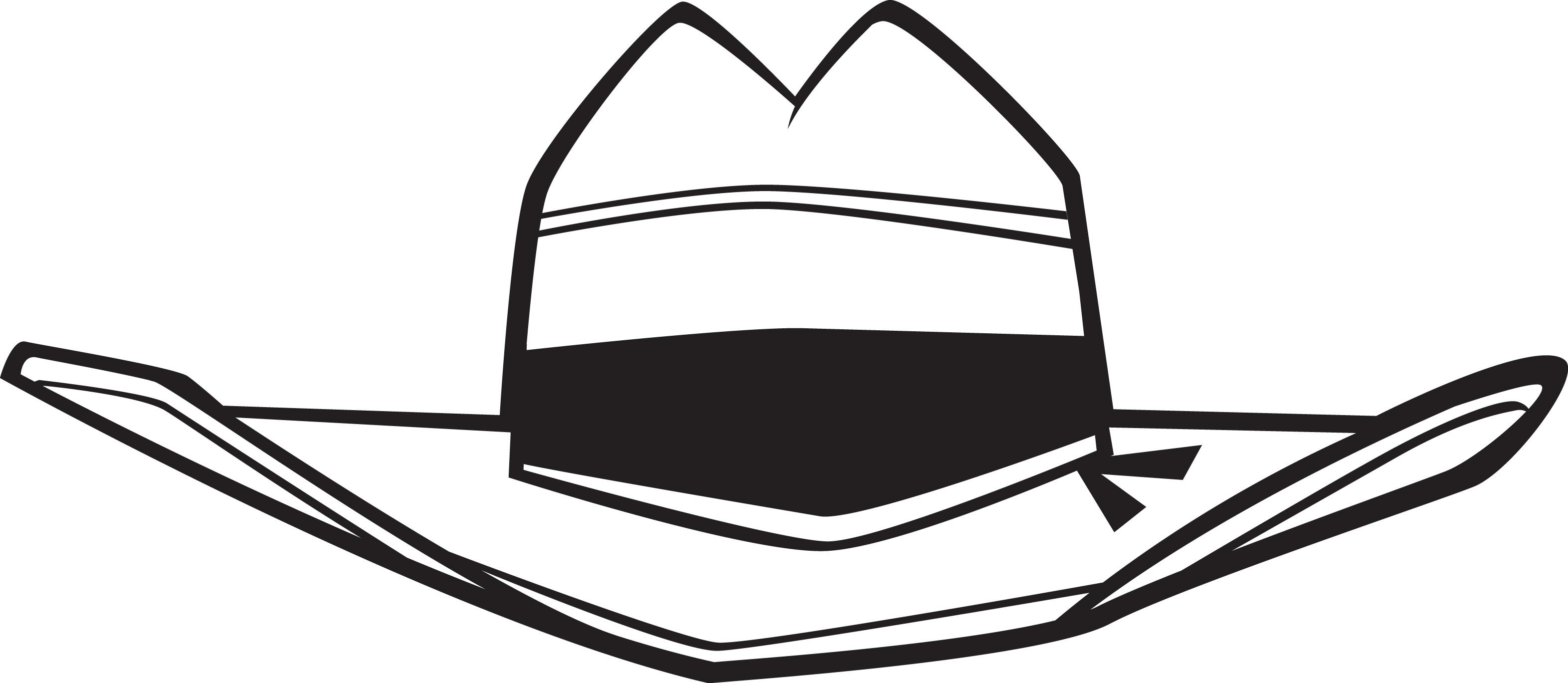 3144x1369 Cowboy Hat Wboy Hat Clipart 6